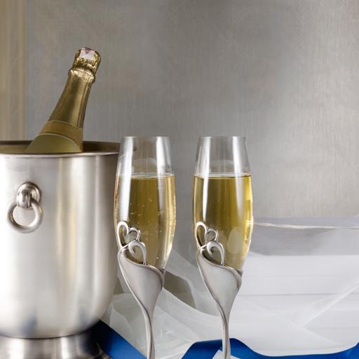 Elegancki prezent na ślub, wyjątkowy upominek na rocznicę, podarunek na urodziny.